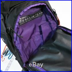 $160 The North Face Snomad 34 Ski Touring Backpack Size L/XL Black/Purple NEW