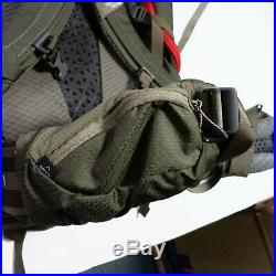$290 The North Face Fovero 70 Backpack L/XL Green NEW