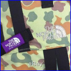 Auth North Face Purple Label Japan Edition Camo Pattern Large Camping Backpack