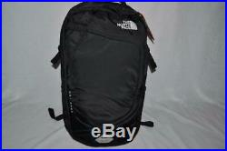 Authentic The North Face Hot Shot Backpack Bookbag Blk Black Brand New