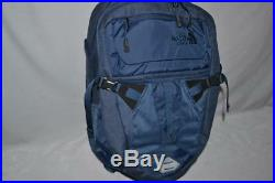 Authentic The North Face Recon Shady Blue Bookbag Backpack Daypack Brand New