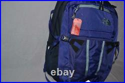 Authentic The North Face W Recon Purple Navy Bookbag Backpack Brand New
