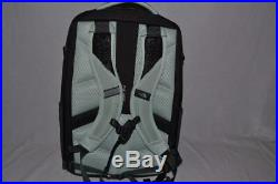 Authentic The North Face W Recon Surf Green Grey Bookbag Backpack Brand New