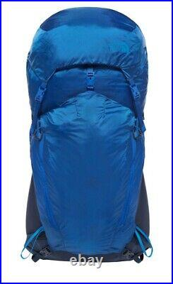 BNWT THE NORTH FACE Banchee 50 Backpack/Rucksack Cobalt Blue RRP £220