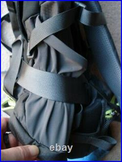 Htf Black Boy Scouts/youth Trail Hiking Adventure North Face Terra 55l Backpack
