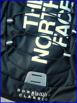 Htf Classic Large Street Logo Black North Face Borealis Backpack + Bonuses