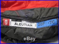 Incredible The North Face Aleutian 20 Degree Backpacking Camping Sleeping Bag