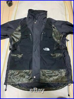 Junya Watanabe MAN x The North Face Backpack Jacket Black/Camouflage Large