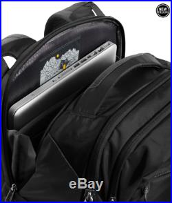 NEW 2018 The North Face Router Transit BLACK 41L Laptop Backpack Rucksack TNF