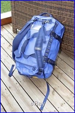 NEW North Face Base Camp Medium Unisex Bag Duffle Backpack Nautical Cosmic Blue