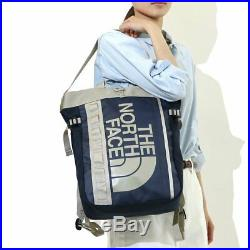 NEW THE NORTH FACE BC Fuse Box Tote Bag NM81609 Backpack Urban Navy 3ways F/S