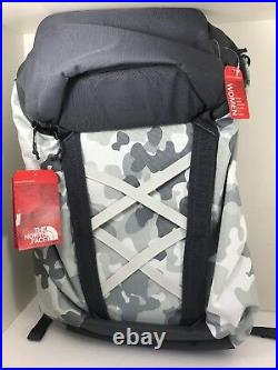 NEW The North Face Backpack Women's TurnStyle White Grey Light Trail Hiking TNF