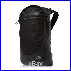NEW The North Face Waterproof Daypack 34.5 Litre // Black Rucksack Backpack Bag
