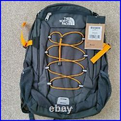 NORTH FACE Borealis Classic Rucksack Backpack 29 Litre Grey Orange New