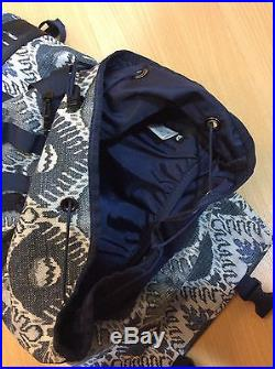 North Face Purple Label Blue Nordic Pattern Day Camping Backpack Supreme Visvim