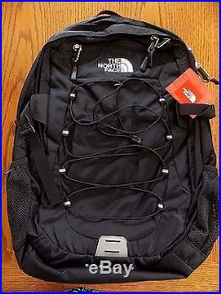 NWT MENS THE NORTH FACE Borealis Backpack TNF BLACK 15 LAPTOP BAG FREE SHIPPING