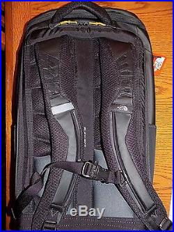 NWT Men's The North Face Kaban Transit Backpack 17 Laptop Bag TNF BLACK AWESOME