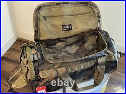 NWT The North Face Base Camp Duffel Medium 71 L Backpack Camo Limited Edition