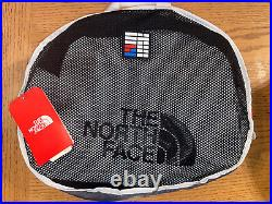 NWT The North Face Base Camp Duffel Packable Backpack White & Black MEDIUM $149