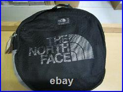 NWT The North Face Base Camp Duffel Packable Travel Suitcase Backpack TNF Black