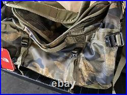 NWT The North Face Base Camp Duffel Small 50 L Backpack Camo Limited Edition