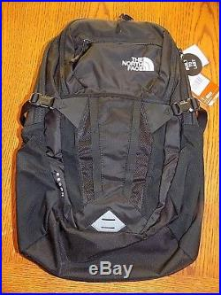 NWT The North Face Recon Backpack NF0A3KV1JK3 TNF BLACK NEW VERSION FREE SHIP
