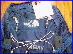 NWT Women's The North Face Borealis Backpack Urban Navy/Pink LIFETIME WARRANTY