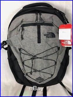New North Face Borealis Backpack MID Grey Asphlat Grey 28l Laptop Free Ship