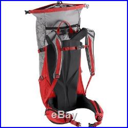 New THE NORTH FACE Shadow 40+10L Hiking/Climbing Backpack L/XL (Red/Grey)