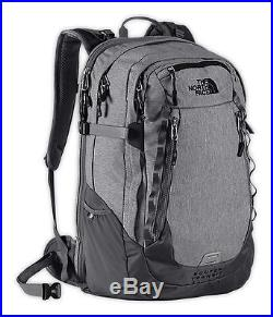 New The North Face Router Transit Backpack TSA Laptop Approved Zinc Grey