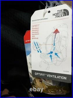 New The North Face Terra 50 Tfn Black /asphalt Grey Unisex Outdoor Backpack L/xl