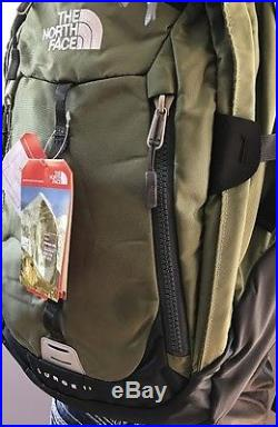 New With Tags The North Face Surge 2 Backpack Laptop Approved Green