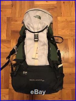 North Face Badlands 60 Hiking Pack with Carbon Fiber Frame Northface Backpack