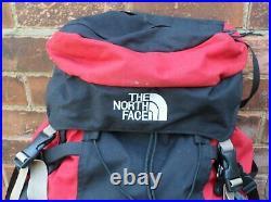 North Face Badlands Internal Frame 75L Backpack Rucksack Hiking Red Black M/L