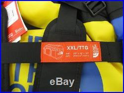 North Face Base Camp Duffel Bag/Backpack CA6V Bright Cobalt Blue/TNF Black 2XL
