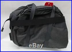 North Face Base Camp Duffel Bag/Backpack CWW1 TNF Dark Grey Heathr/Asphalt Large