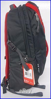 North Face Big Shot Daypack Backpack Bookbag Clg7-65j Red One Size