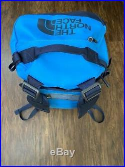 North Face Blue Duffle/backpack Medium Used