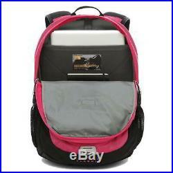 North Face Borealis Womens Pink Backpack Rucksack Bag 15 Laptop Sleeve
