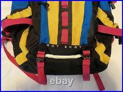 North Face Hot Shot Se Neon Multicolor Backpack