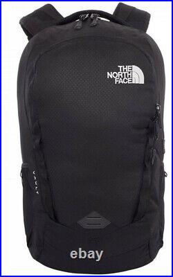 North Face Mens Vault 27L Black Pack, Laptop, Black, NEW, Rrp £109