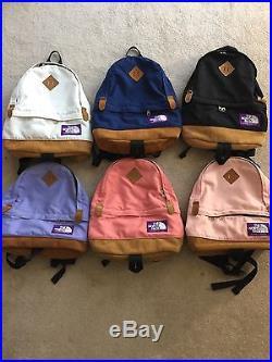 e89af6d79 North Face Original Day Pack Teardrop Backpack Purple Label Black ...