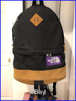 North Face Purple Label Backpack Black Canvas Supreme Off White