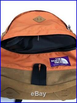 North Face Purple Label Carbon Orange Backpack Vintage Style Supreme