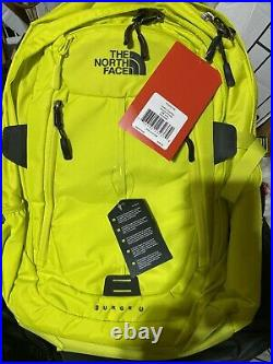 North Face Surge 2 Charged Sulphur Spring Green Color Rare