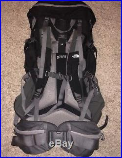 North Face Terra 65 M/L Internal Frame Backpacking Pack Black NEW Without Tag