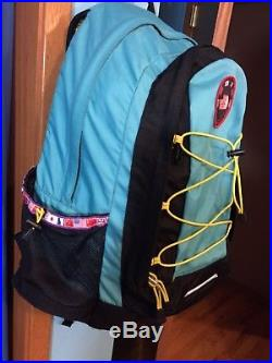 North Face Trans-Antarctica Expedition Nunatak Backpack Teal School Hiking Bag