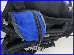 North Face Vintage ACT ZERO 60+10 Hiking Backpacking Bag Blue