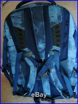 Nwt Blue New Style North Face Recon Computer/hydration Day/school Backpack+bonus