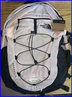 Nwt The North Face Women's Borealis Backpack Pink Salt $89 Free Shipping